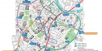 Wienin Kartta Kartat Wien Itavalta